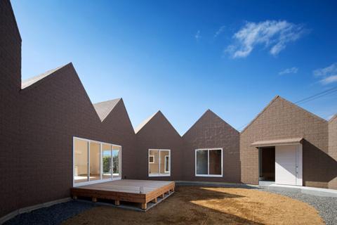 House Of Awa Cho 7 Square Shaped Houses Home Japanese