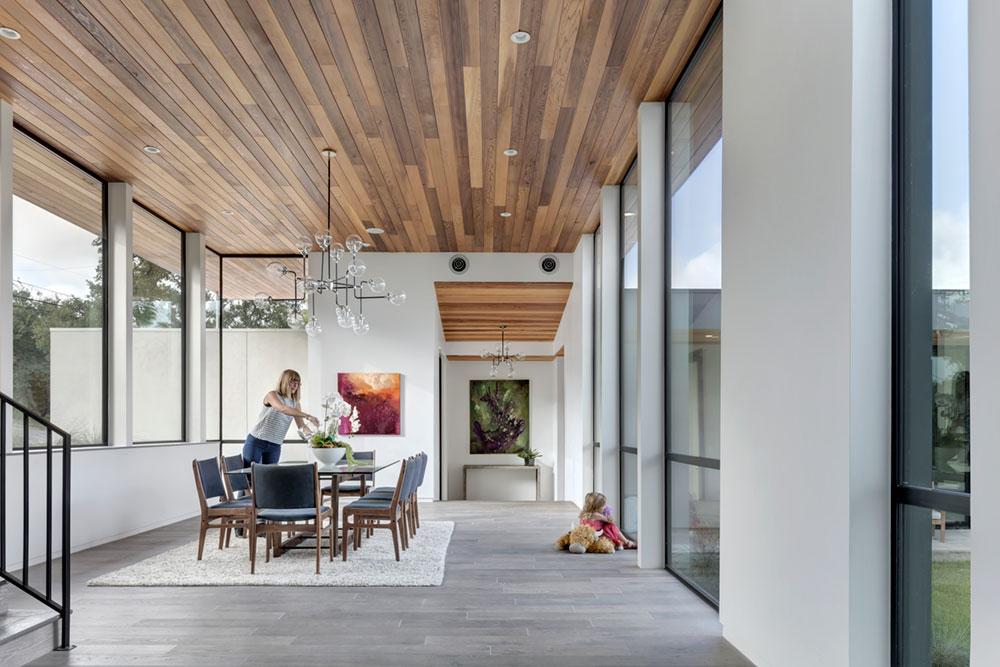 modern house courtyard mf8 - [Bracketed Space] House