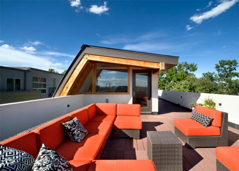 modern house denver shield 9 - Shield House: Welcoming Sail as a Highlight