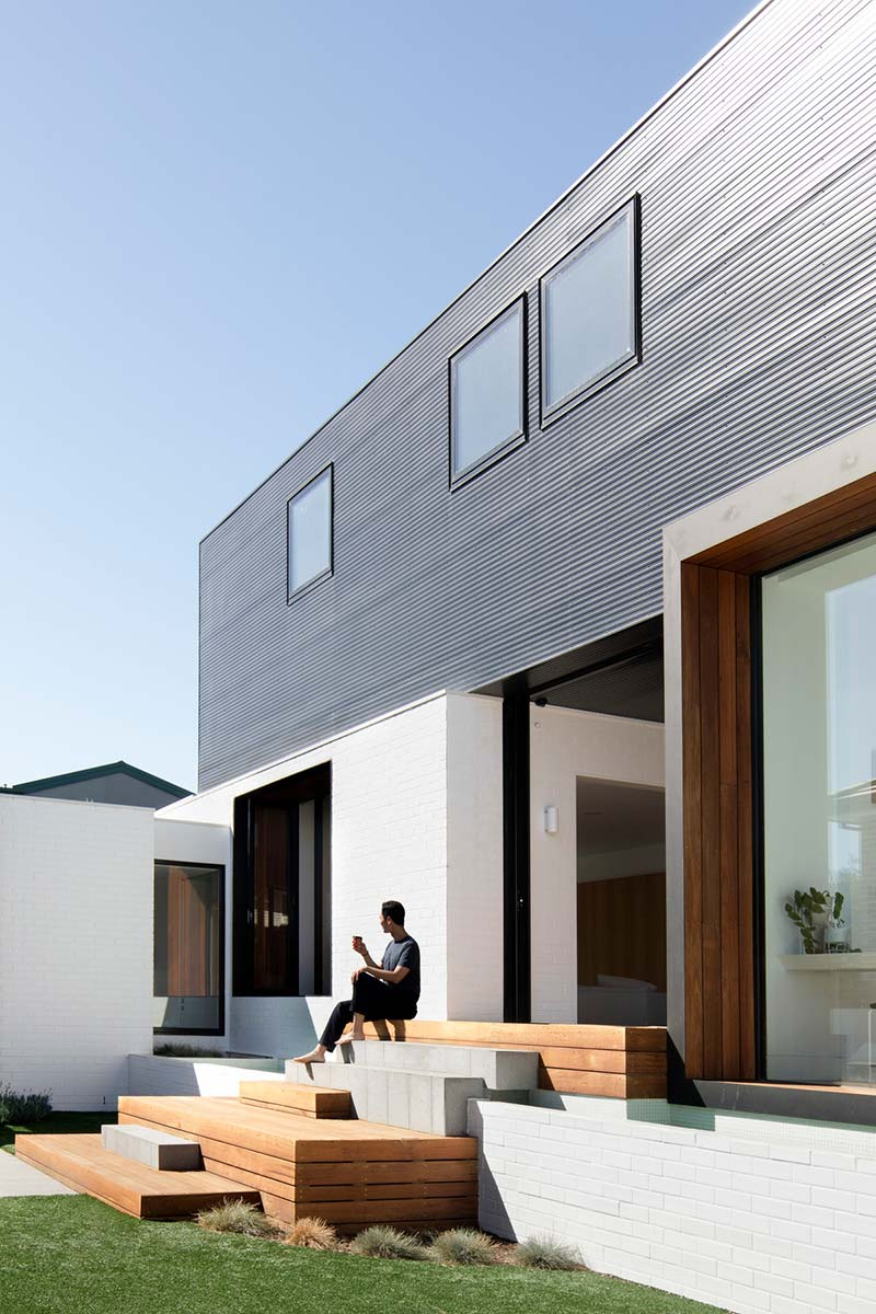 modern house design back mo - Bulleen House