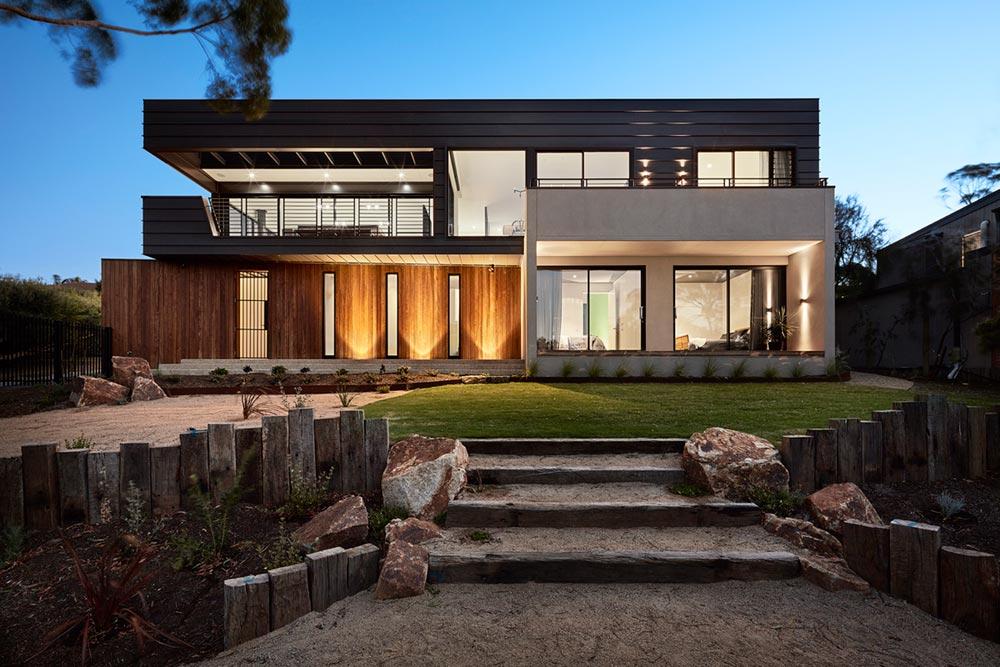 modern house design exterior sb - Treetops House
