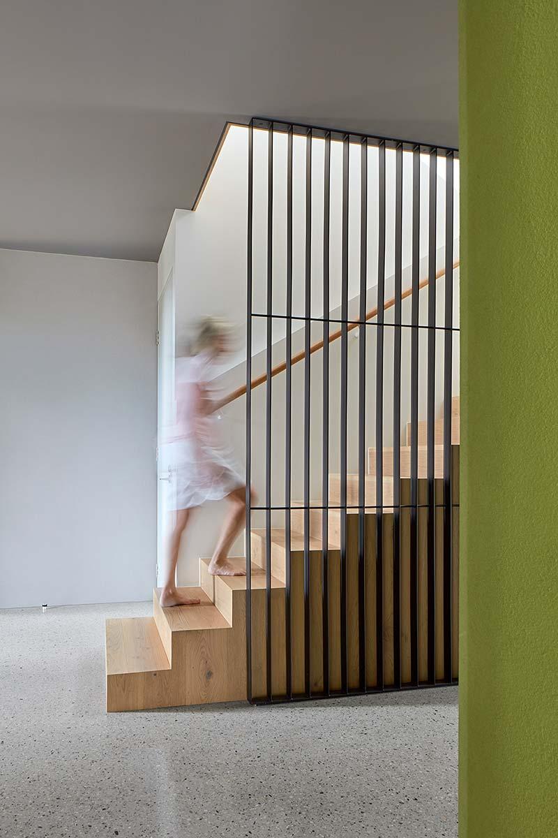 modern house design stairs sb - Treetops House