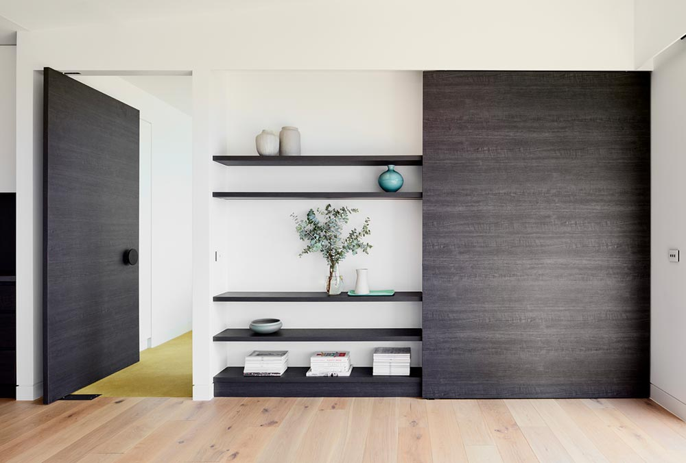 modern house design storage sb - Treetops House
