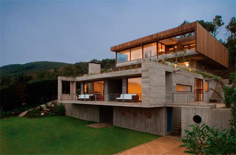 El Pangue House Where The Sun Meets The Sea Modern