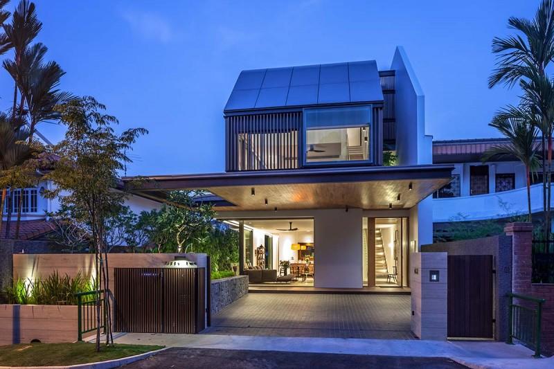 modern house far 800x533 - The Far Sight House