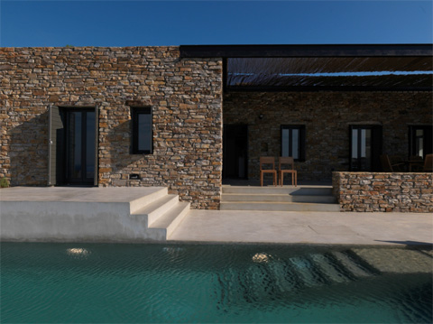 Aloni Residence Connecting Hills In Greece Modern