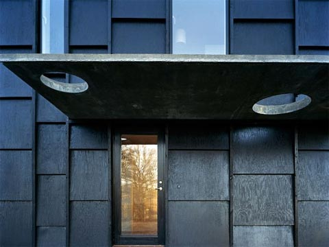 modern house k3 - House K: Cut-Out Design