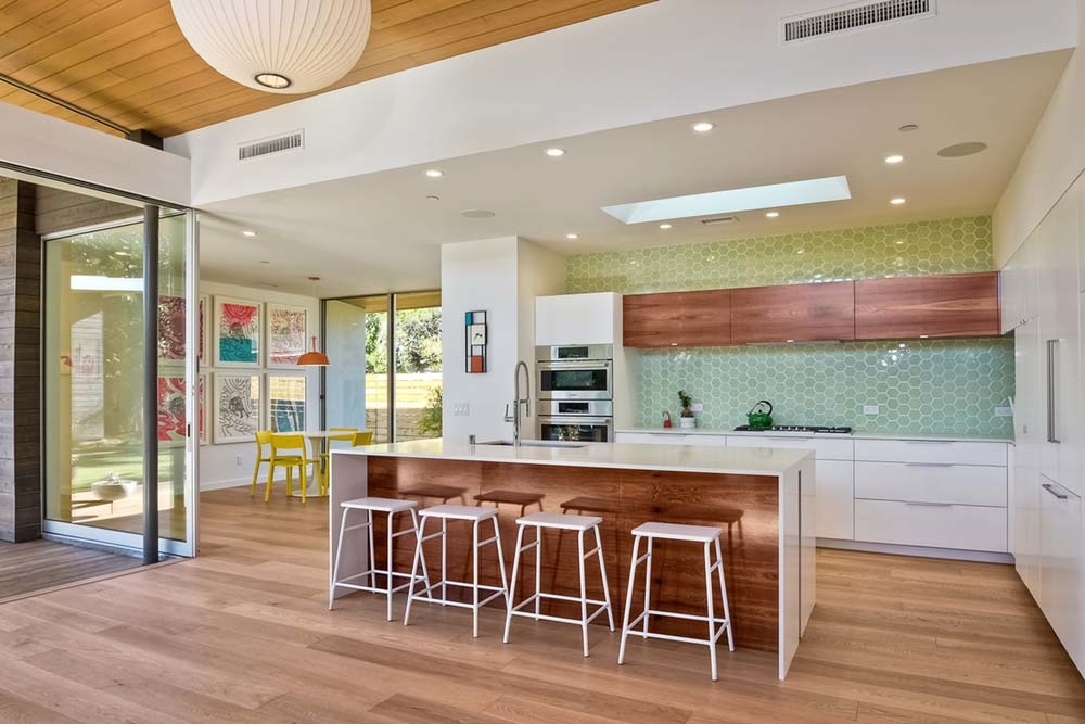 modern house kitchen design lra - Avocado Acres House