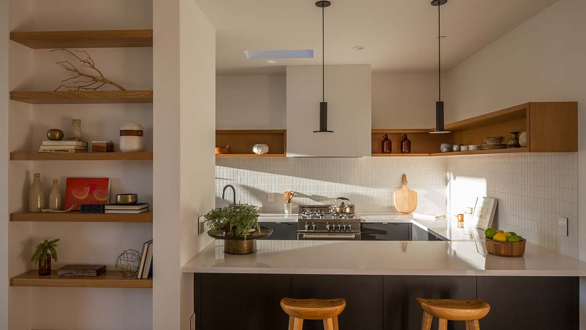 modern house kitchen design - Tilt Shift House