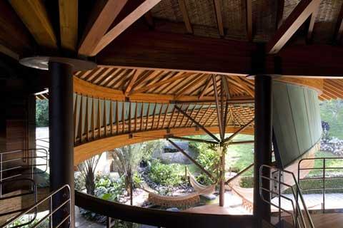 Leaf House Tropical Getaway Modern Architecture