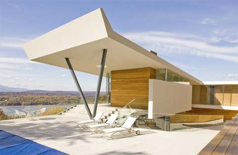 House on mt merino generosity on the hudson modern for Modernisme architecture definition