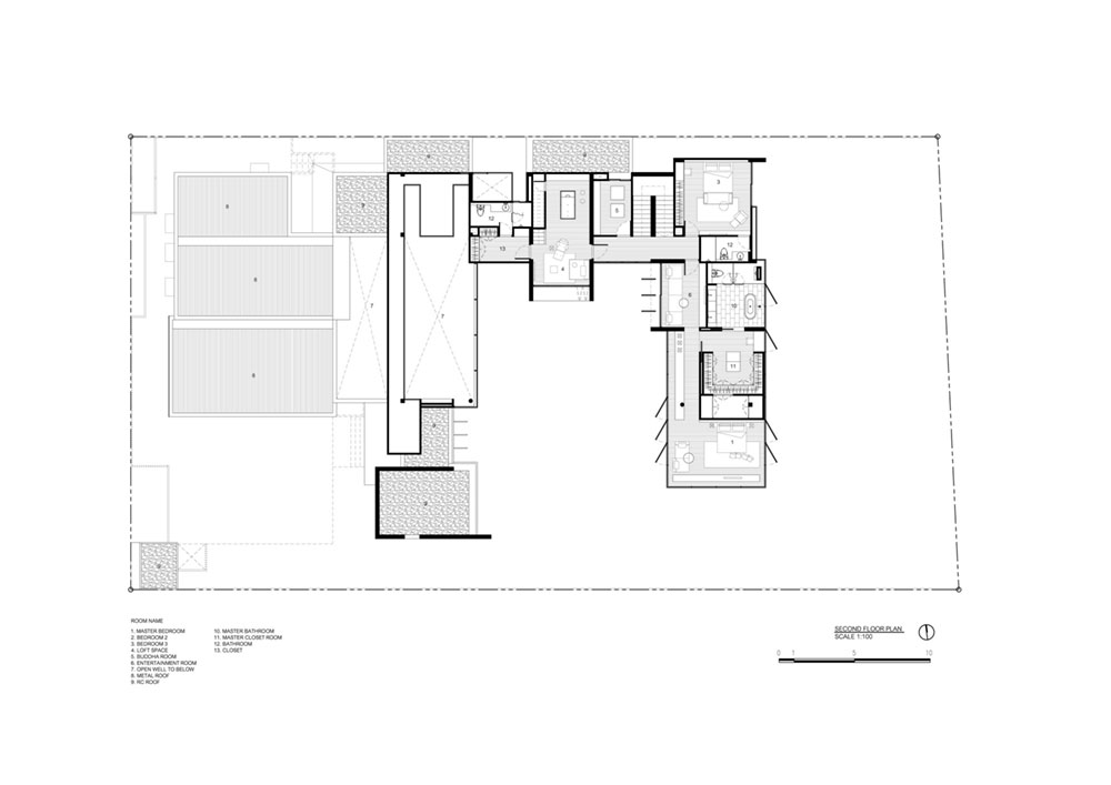 modern house plan thailand aad1 - Lakeside Residence