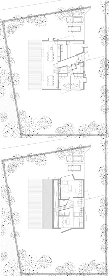 modern house plans bierings - House Bierings: Sculptural Eyes