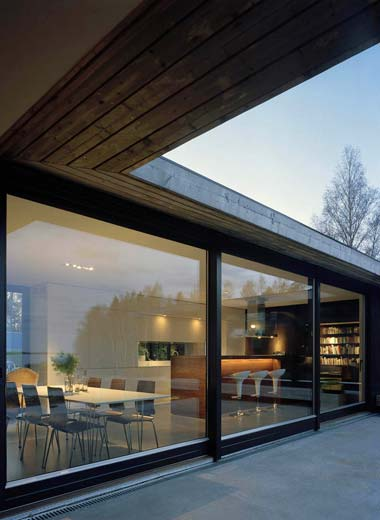 modern house sweden h6 - H-House: A Heavenly Home