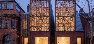 Modern Infill House Design Four Storey Duplex