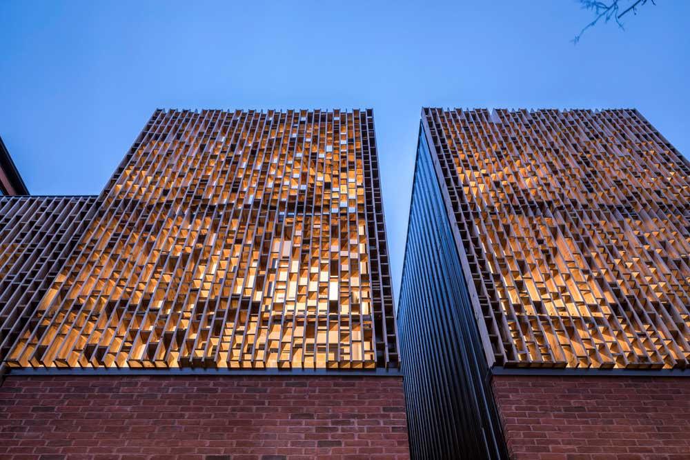 Modern infill house design
