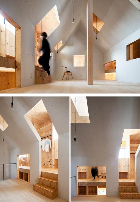 the ant house double structure double pleasure