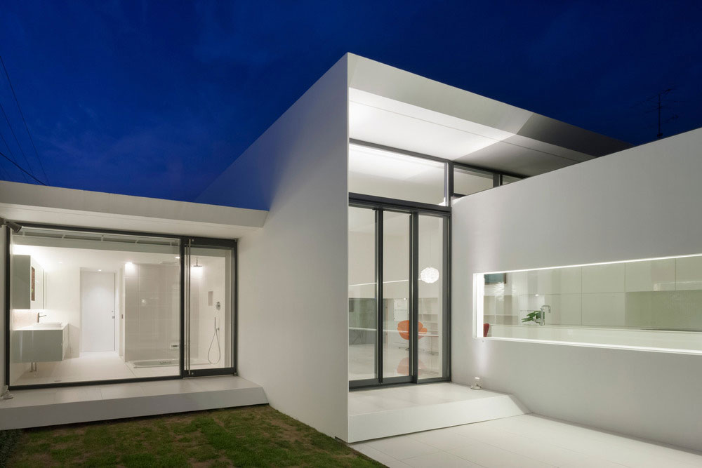 Modern House Designed As An Art Museum In Tokyo Japan