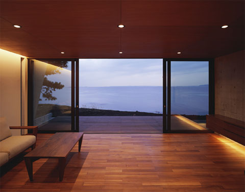 Japanese Architecture Seaside Villa Coastal Homes