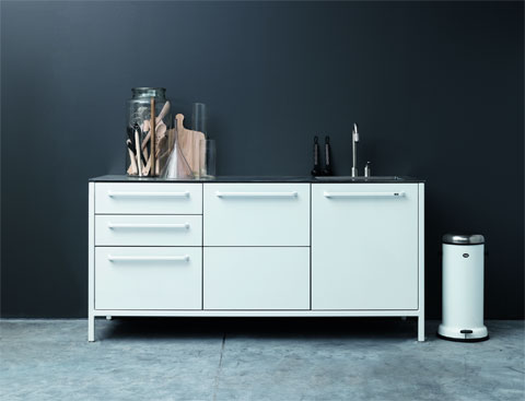 Vipp Kitchen Free Standing Simplicity Meets Design And