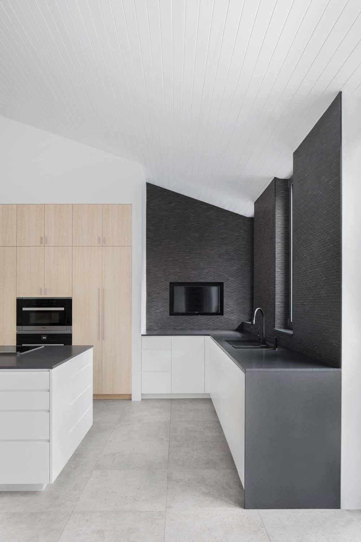 modern kitchen design - Prairie House
