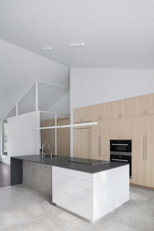 modern kitchen island design - Prairie House
