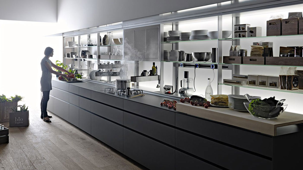 the most amazing modern kitchen system by valcucine