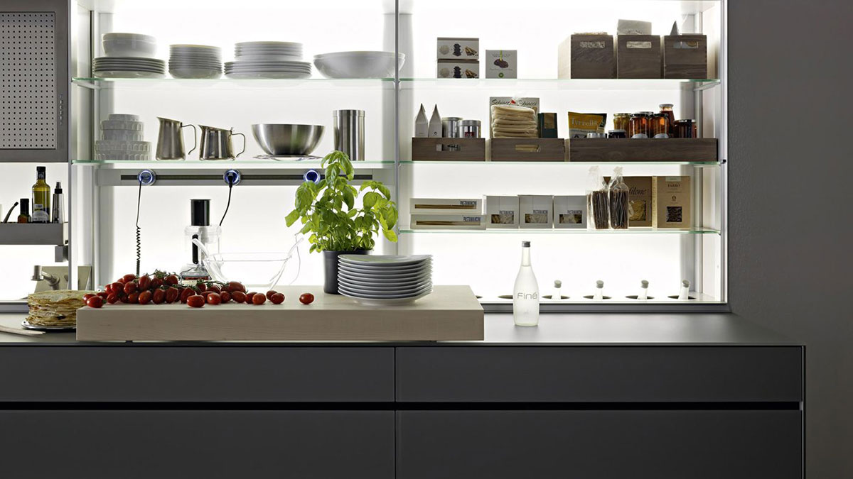 The Most Amazing Modern Kitchen System By Valcucine!