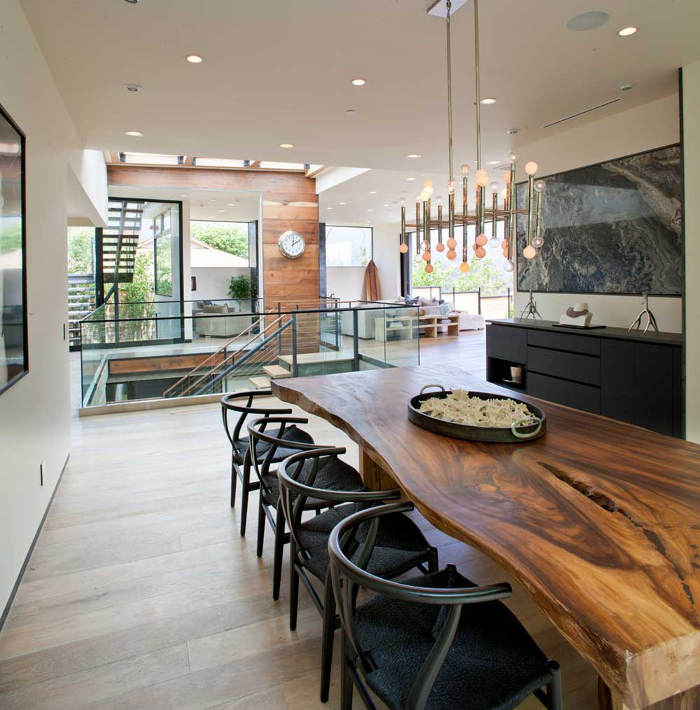modern la home design dining mo - Bellino Residence