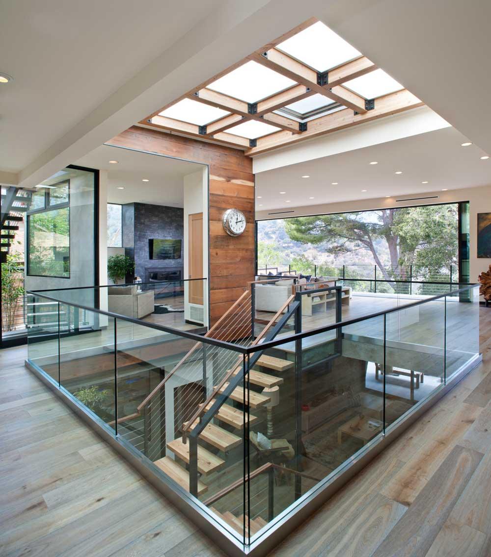 modern la home lightwell design mo - Bellino Residence