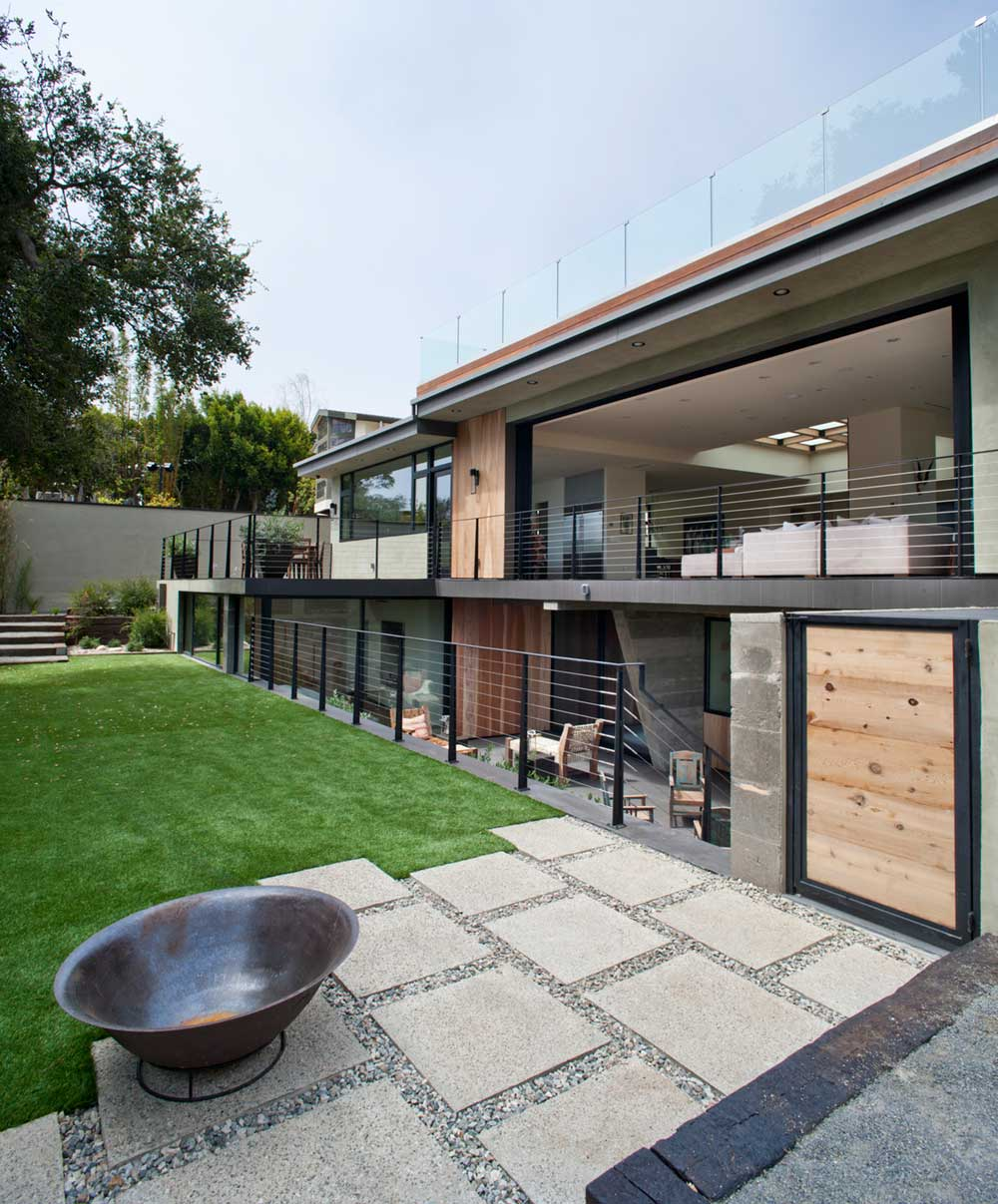modern la home outdoor design mo - Bellino Residence