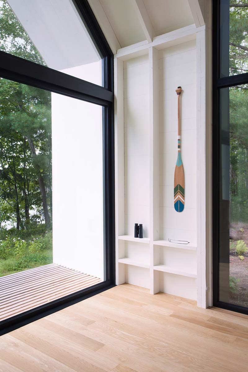 modern lake cottage decor - Window on the Lake