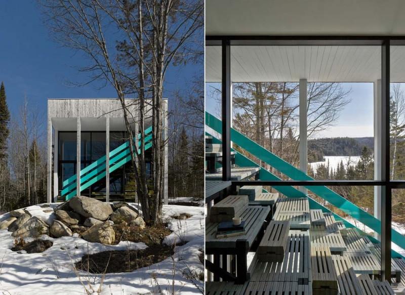 modern lake house jasper 4 800x583 - Lake Jasper House