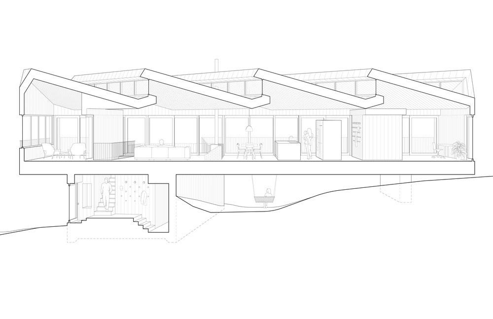 modern lake house plan 2jjck - Sky House