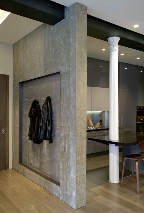 Stylish Laconic And Functional New York Loft Style: Bond Street Loft: New York City Suave Style