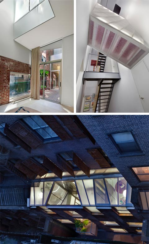 modern loft interior design 11 - White Street Loft: Transformative Interior Design