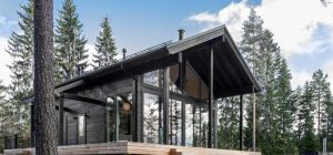 modern log cabin design 300x140 - Inio Log Cabin