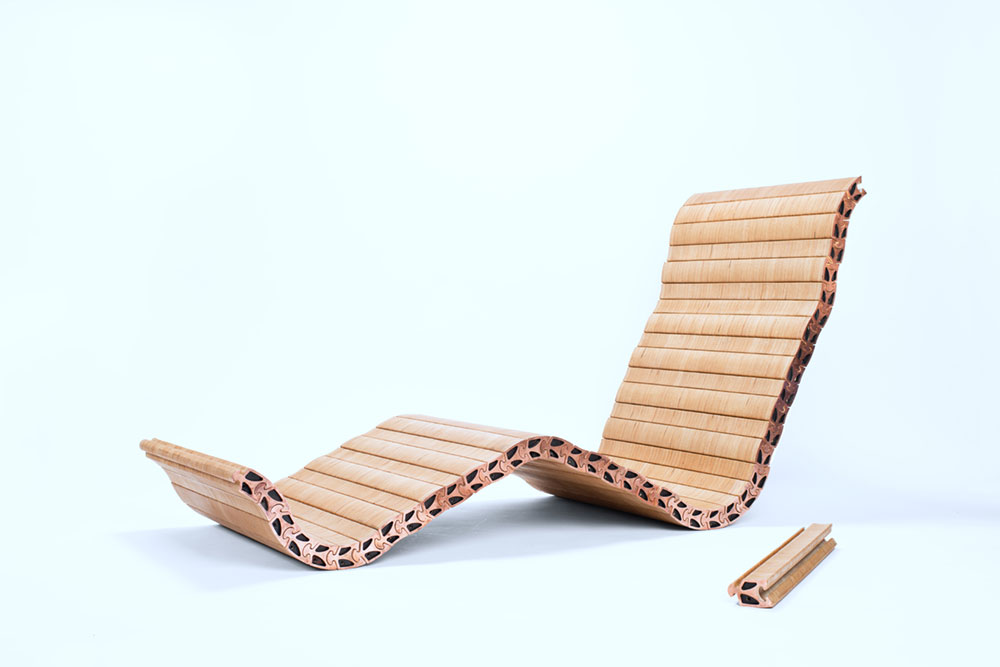 Modern Lounge Chair Design Inspired By The Human Spine