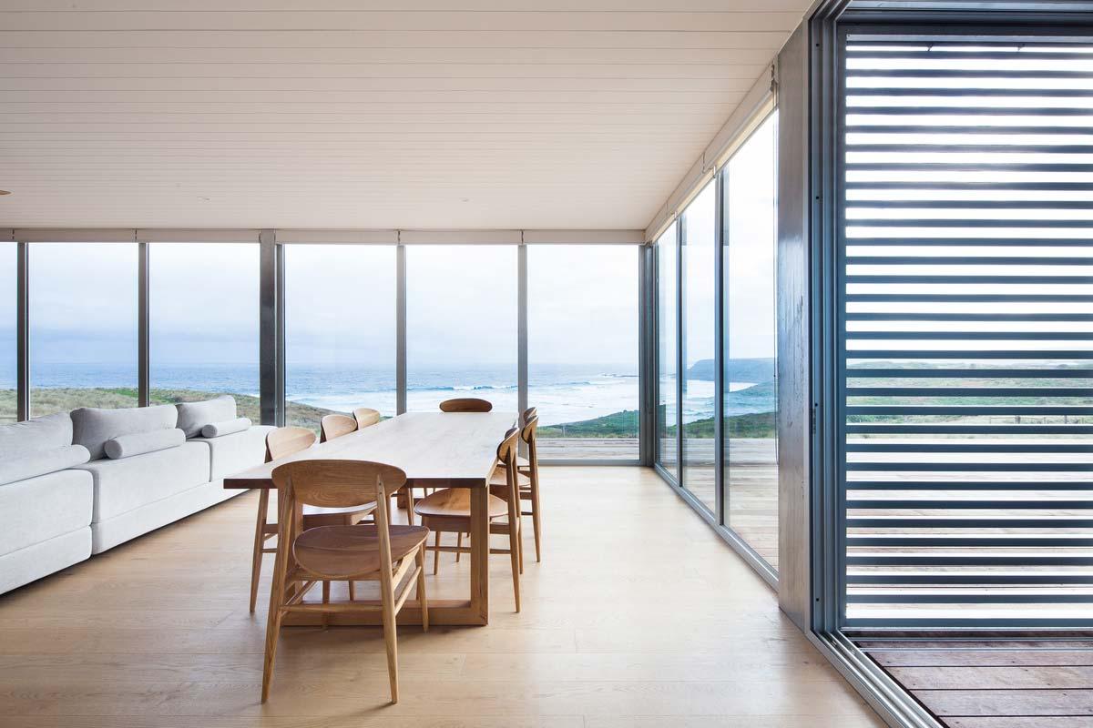 modern modular home dining ms - Phillip Island Modular Home