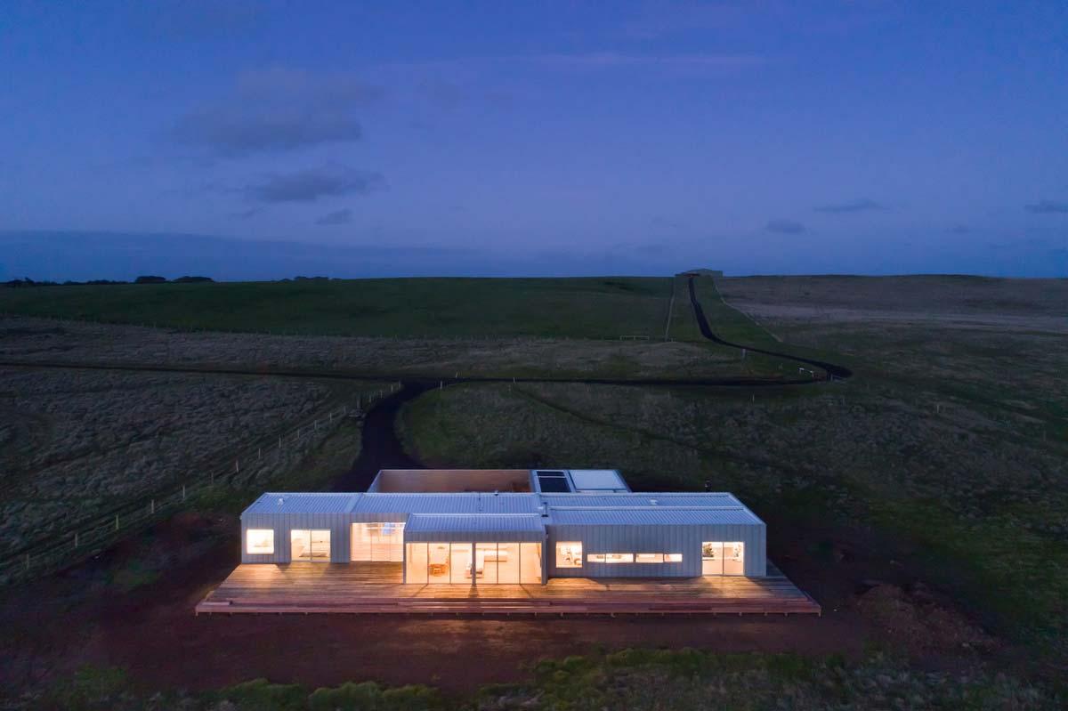 modern modular home exterior ms - Phillip Island Modular Home