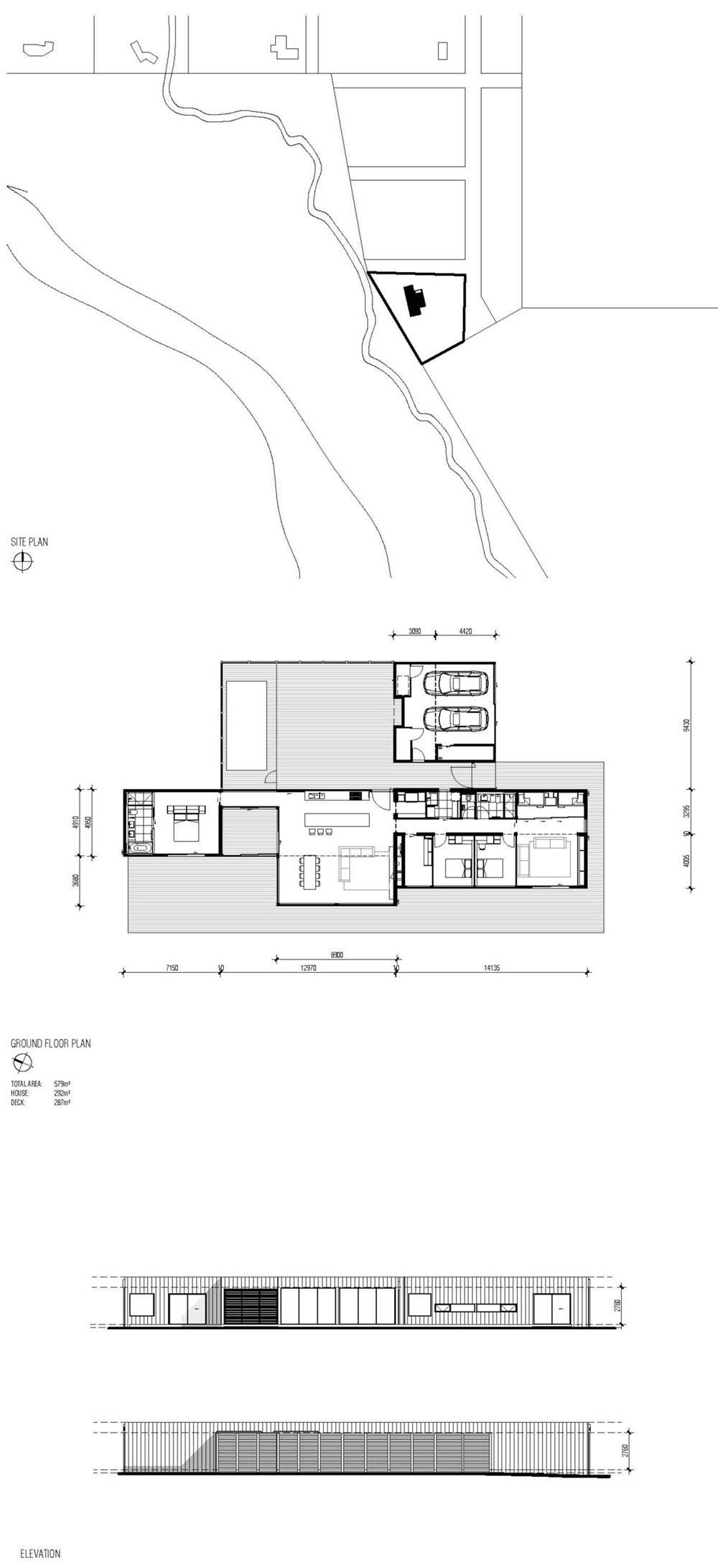modern modular home plan ms - Phillip Island Modular Home