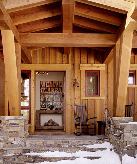 Modern Mountain Cabin Contemporary Comfort Beautiful