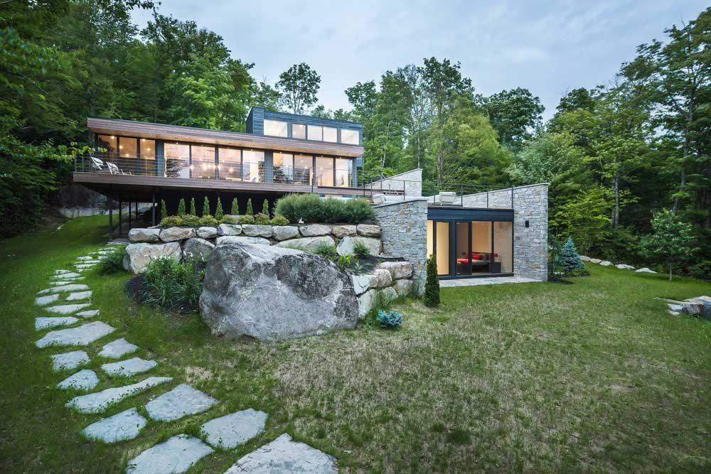 modern mountain home mu 1000x667 - Estrade Residence