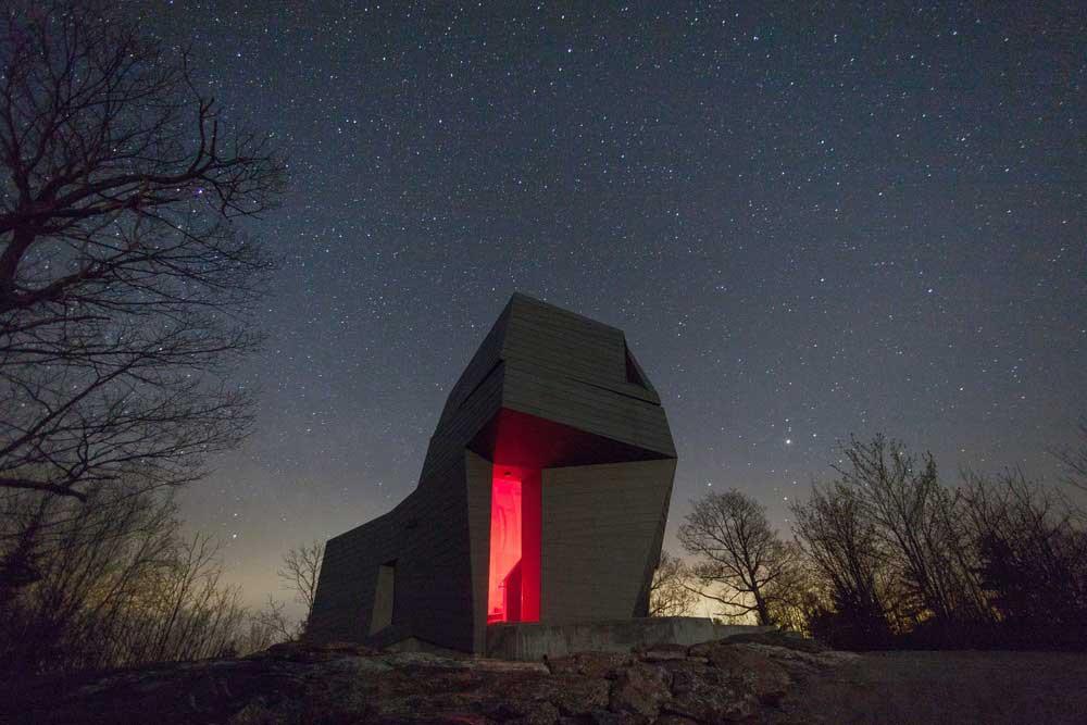 modern observatory design night awa - Gemma Observatory