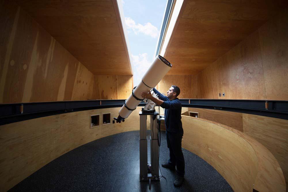 modern observatory design telescope awa - Gemma Observatory