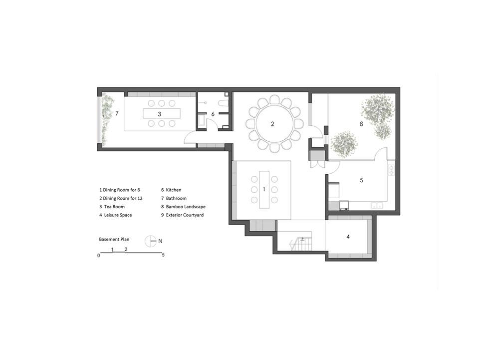 modern oriental home plan as2 - Haitang Villa