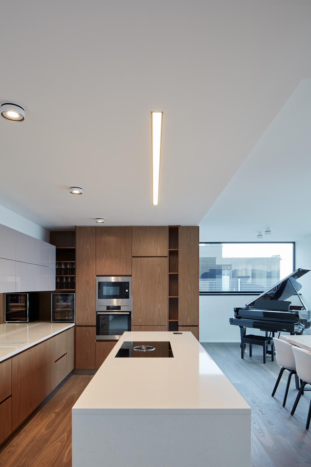 modern penthouse apartment kitchen - Penthouse F6.1