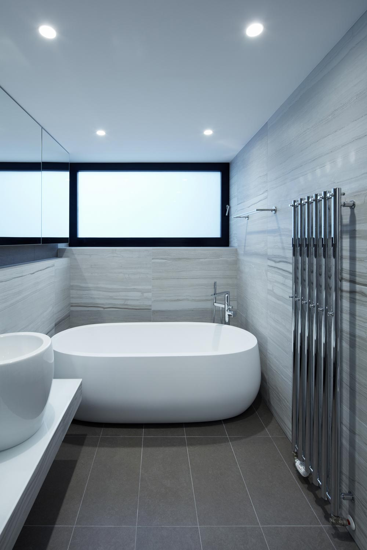 modern penthouse bath - Penthouse F6.1
