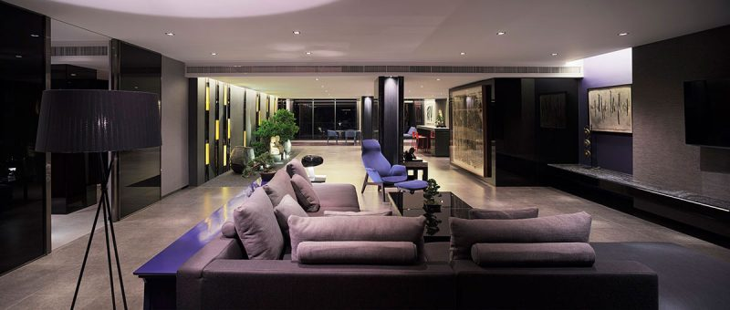 modern penthouse. modern penthouse design aad 800x340  Hua Hin Penthouse Luxury Top Floor Apartment Design In Thailand