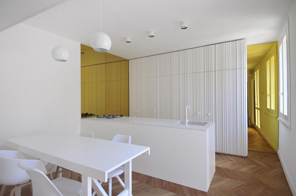 modern penthouse kitchen design